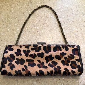 Antonio Melani Clutch Handbag - Leopard design